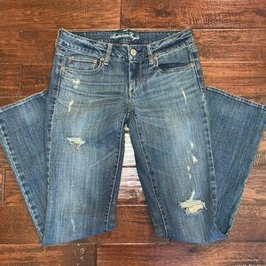 American Eagle Straight Leg Stretch Jeans